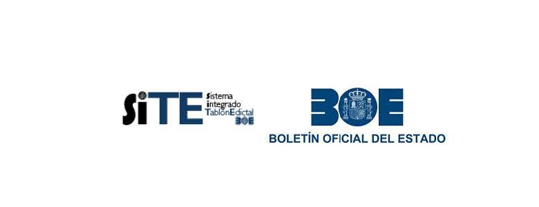 SITE - TABLON EDICTAL UNICO (BOE)