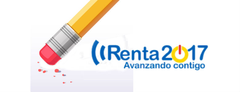 modificar o anular declaracion de la RENTA 2017
